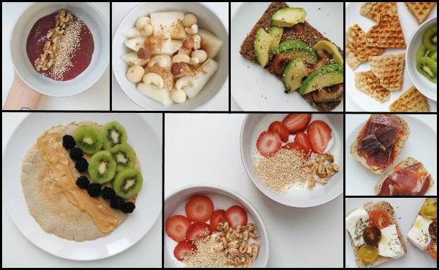 10 ideas saludables para el desayuno y empezar bien el día